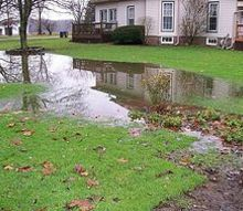 q rainfull lake, home maintenance repairs, outdoor living, taken from my back flowerbed looking toward the street