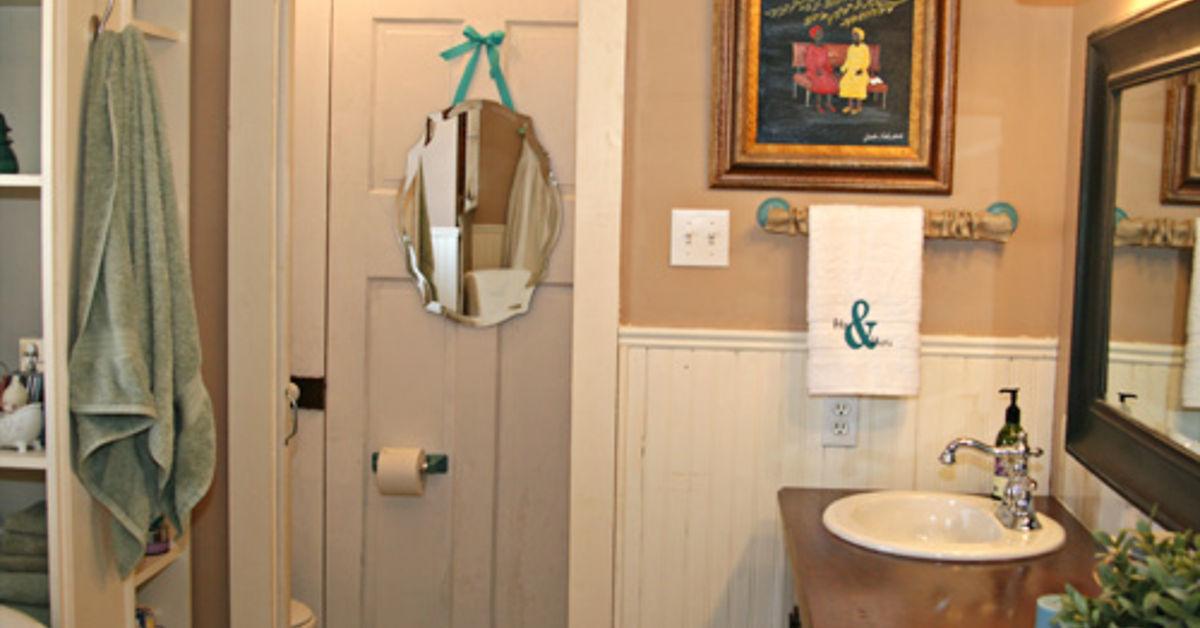 Bathroom Makeover On A Dime Hometalk