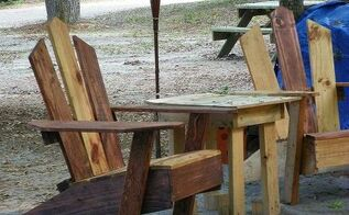 more pallet chairs, diy, painted furniture, pallet, repurposing upcycling