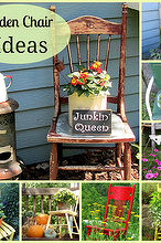 great garden chair planter ideas, gardening, outdoor furniture, outdoor living, painted furniture, repurposing upcycling, rustic furniture, seasonal holiday decor, Even more chair ideas on the blog post