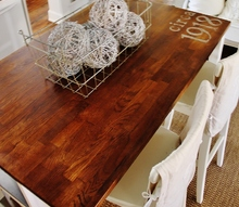 handpainted kitchen island, countertops, kitchen design, kitchen island, painting, Painted Kitchen Island