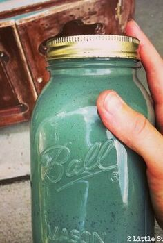 encouraging a little extra chippiness with milk paint, painted furniture, Using Sweet Pickins Milk Paint Sea Green