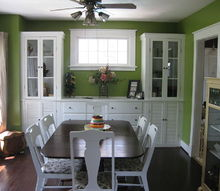 q dining room help do you like this color at first she didn t but it s growing on, home decor, painting, Wants to incorporate cobalt orange into this room Thoughts