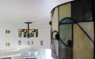 kitchen lighting a finishing touch to a mobile home renovation, home improvement, kitchen design, lighting