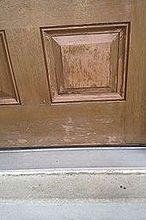 front door refinishing project, doors, painting