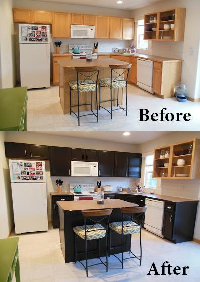 Gel Stained Kitchen Cabinets | Hometalk