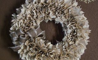 top five most popular posts of 2013, crafts, home decor, wreaths, 1 Well Read Book Wreath
