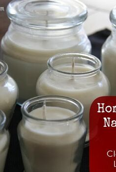 homemade soy candles all natural long lasting clean burning, crafts, mason jars