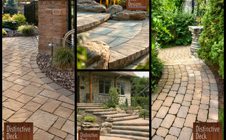 patio and paver inspiration, concrete masonry, decks, patio, Walkways