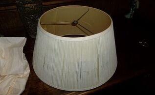 q lampshade, crafts, painting