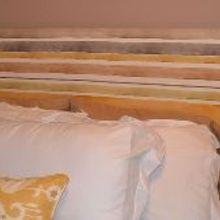 diy upholstered headboard, bedroom ideas, home decor, reupholster, DIY Upholstered Headboard