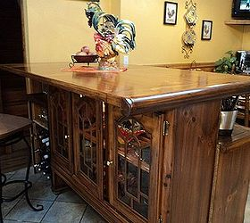 From Dining Room Set To Upcycled Dining Island, Kitchen Cabinets, Kitchen  Design, Kitchen