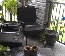small balcony, decks, gardening, outdoor living, urban living