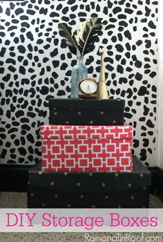 diy decorative storage boxes, crafts, repurposing upcycling