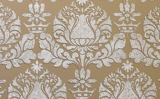 stencil how to easy sponge roller texture and stencil shadow shift, painted furniture, wall decor, Corsini Damask Stencil