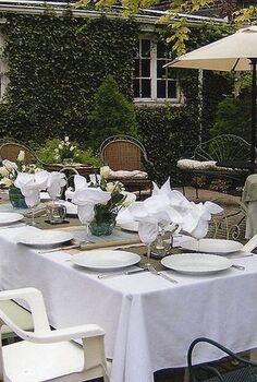 garden party, outdoor living