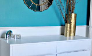 mid century modern dresser makeovers, painted furniture