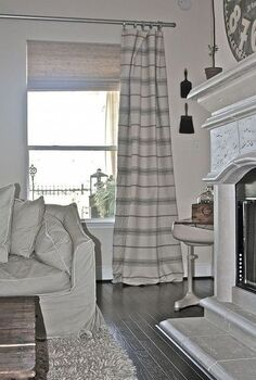cottage drapes, crafts