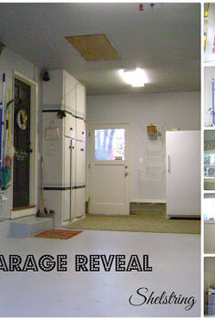 garage reveal, cleaning tips, garages, storage ideas, Garage Now