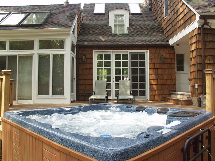 Do You Like Hot Tubs On A Deck Or Built In Hometalk