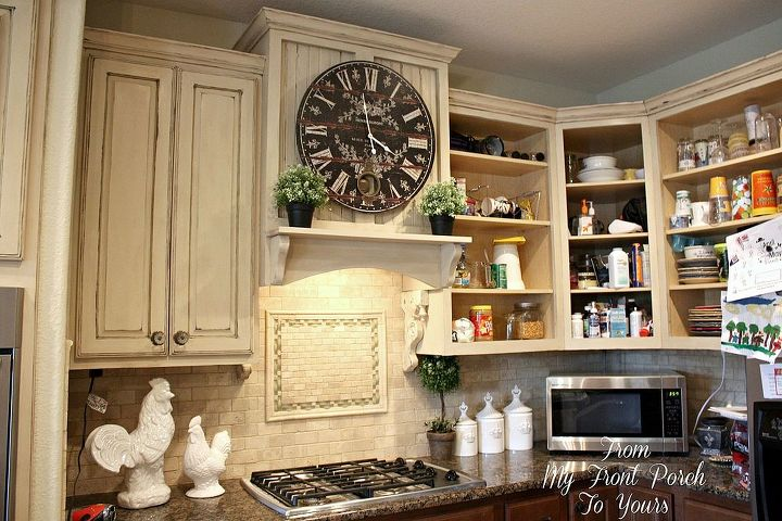 Kitchen Cabinets Ideas painting kitchen cabinets with chalk paint : Creating a French Country Kitchen Cabinet Finish Using Chalk Paint ...
