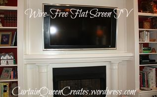 flat screen tv wiring visible mantel reno solution, electrical, wall decor, I created a mantel box for housing our wiring You can do it too