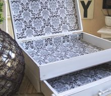 old flatware chest gets a new life, crafts, So much better