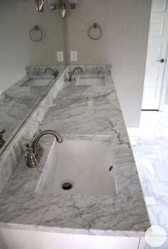 house flip before and after master bathroom, bathroom ideas, diy, flooring, home improvement, tile flooring, tiling