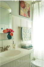 our light and bright before and after bathroom, bathroom ideas, home decor, bathroom after