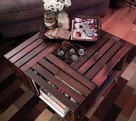 Vintage Wine Crate Coffee Table Hometalk