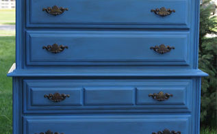 the gals from anything blue friday june 28th, home decor, painted furniture, patriotic decor ideas, seasonal holiday decor, Furniture Transformation from