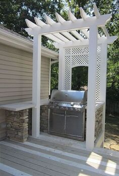 ready fro some bbq, outdoor living