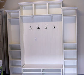 Mudroom Built Ins From Ikea Bookcases For 300, Laundry Rooms, Painted  Furniture, Shelving