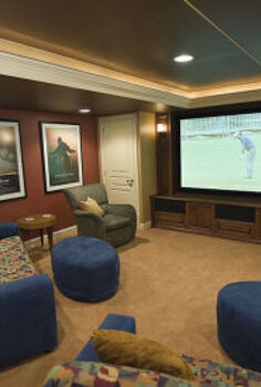 so where are you watching the football game this weekend, entertainment rec rooms, home decor