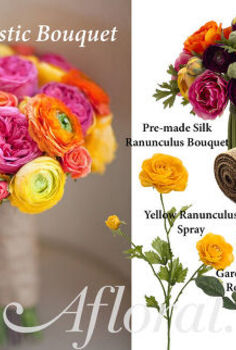 diy bright rustic bouquet, crafts, flowers, gardening, home decor