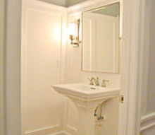 powder room gut renovation, bathroom ideas, home decor, Powder Room After