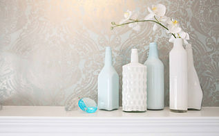 diy painted bottles, crafts, painting
