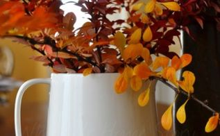 inexpensive fall centerpiece, seasonal holiday decor