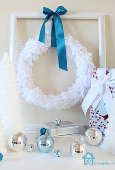 winter white wreath, crafts, seasonal holiday decor, wreaths