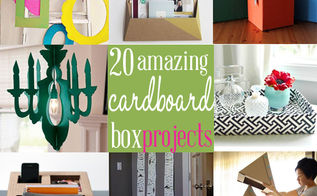 20 amazing cardboard box ideas, cleaning tips, crafts, home decor, repurposing upcycling, shelving ideas, storage ideas