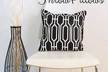 diy throw pillows, crafts, home decor, reupholster
