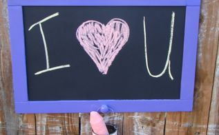 upcycled chalkboard from door, chalkboard paint, crafts, repurposing upcycling