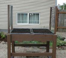 my above ground planters, gardening