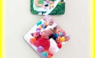 diy photo tiles craft, crafts, decoupage