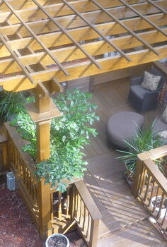 i am a spa junkie and always wanted a private sanctuary all my own here it is 11, decks, outdoor living, spas, view from my bedroom window