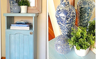 anything blue features, home decor, painted furniture, Lovely blue painted chest from