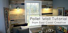 pallet wall room transformation, diy, home decor, how to, pallet, wall decor, Pallet Wall Tutorial