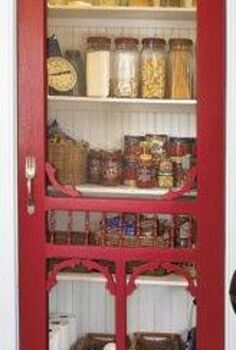 alternative door for a pantry, closet, doors, home decor, Way to create a conversation piece in lieu of just an ordinary door