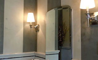 venetian plaster bathroom, bathroom ideas, home decor