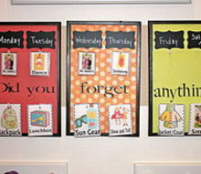 kids art gallery command center, cleaning tips, home decor, organizing, Di you forget anything